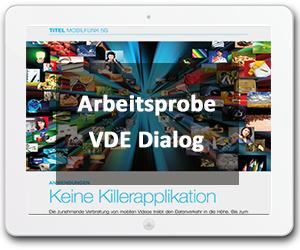 Verbia Arbeitsprobe - VDE dialog