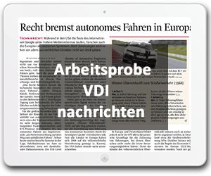 Recht bremst autonomes Fahren in Europa aus
