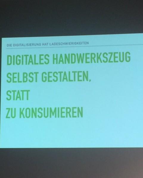 Digitalwerkstatt: Kreativität statt Konsum